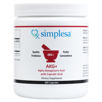 AKG+ Caprylic Acid 360 Capsules