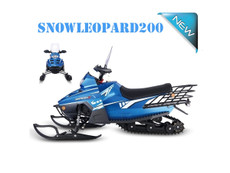 Enjoy this winter on an easy to use and fun Snowmobile!