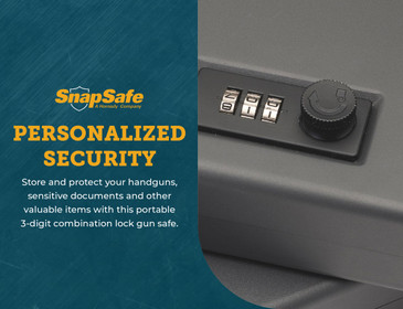 "SnapSafe Combination Lock Box - X-Large (10"" x 7"" x 2"")"
