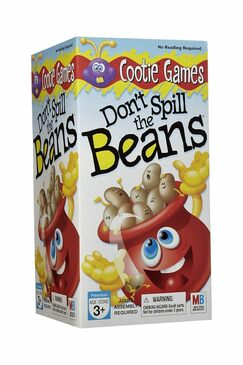 Don't Spill the Beans Game (Box Damaged)
