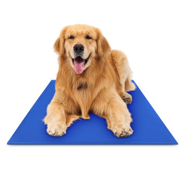"Hugs Pet Products Chillz Pad Comfort Cooling Gel Pet Pad, X-Large (37"" x 31.5"")"