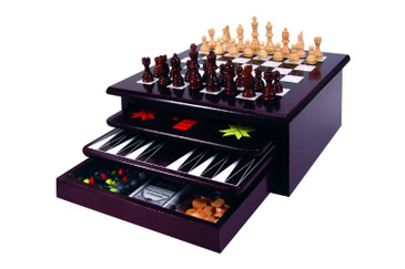 As Seen On TV Wooden 15-in-1 Game Center
