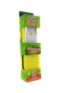 Arrow Snap-On Replacement Sponges, 2 ct.