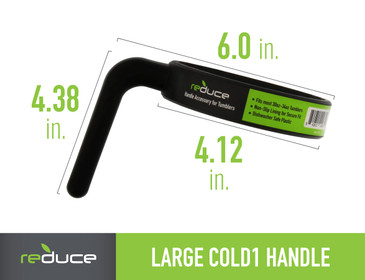 reduce COLD-1 Handle - Fits Most 30oz to 34oz Tumblers - Making it easy to Transport