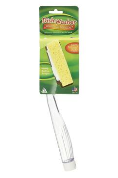 Arrow Liquid Detergent Dishwasher Sponge and Handle