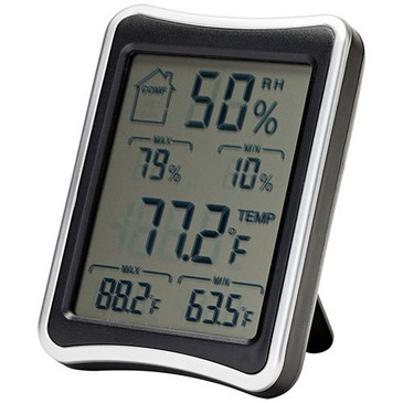 SnapSafe Hygrometer (75909) - Display the Ideal Temperature & Humidity for your Valuables