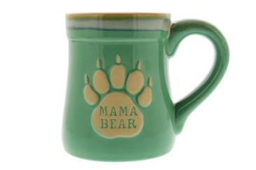 Mama & Papa Bear Ceramic Funny Coffee Mug, Nobody Messes with My Cubs, Large 18 oz Mug, Gifts for Mom & Dad