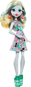 Monster High Lagoona Blue Girl Doll - Wearing Emoji-Inspired Monster High Doll Clothes - Collect all Her Monster Doll Friends Too (Box Damaged)
