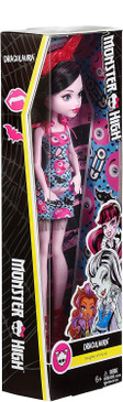 Monster High Draculaura Girl Doll - Inspired Monster High Doll Clothes - Fun Dress Up Halloween Toy - Collect all Her Monster Doll Friends Too (Box Damaged)