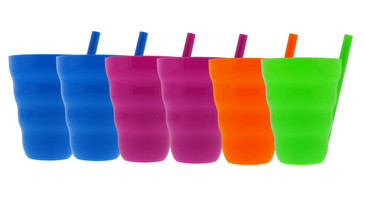 Arrow Sip-A-Cup with Built In Straw For Kids, 10oz