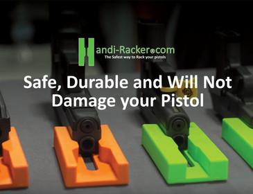 Handi-Racker 2: Safest Way to Rack Your Pistols