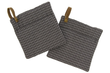 Cuisinart Farmhouse Kitchen Accessories, 2pk - Heat Resistant Mini Mitts, Oven Mitts and Potholders - Protect Hands and Surfaces from Hot Kitchenware