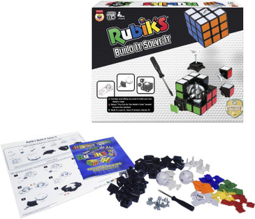 Winning Moves Rubik's Build It Solve It Building Kit