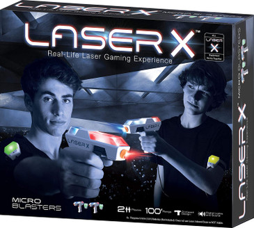 Laser X Real Life Laser Gaming Experience - Two Player Laser Gaming Set 88053