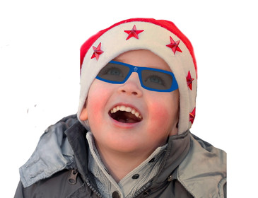 Holiday Specs Plastic 3D GLASSES- Holographic glasses, Look through Glasses at your Holiday Lights and see Snowmen, Snowflakes, Santa, or Reindeer Appear before your Eyes!