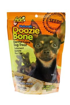 Fido Naturals Doozie Bone - Dental Care Dog Treat for Dogs 4-18lbs - Mini Bones