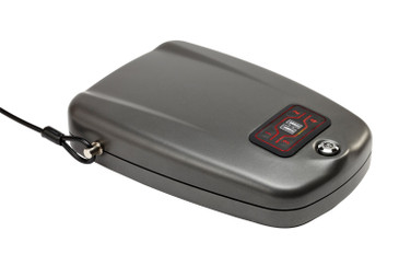 """Hornady RAPiD Safe 2700KP X-Large 98172, Handgun Security Safe, TSA & CA DOJ Approved, Measures 9"""" x 7.7"""" x 2.2"""", Touch Free Entry"""