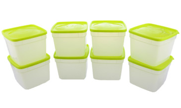 Arrow Plastic Storage Container Sets – Reusable Food Storage Containers for Meal Prep and Leftovers