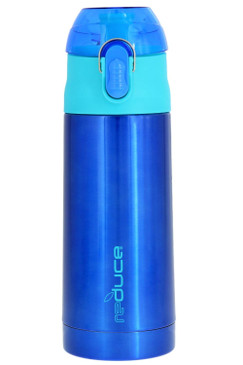 reduce Stainless Steel Vacuum Insulated Kid's FROSTEE Water Bottle with Leak-proof Lid, 13oz - Fits Most Lunchboxes, BPA-free & Sweat-proof