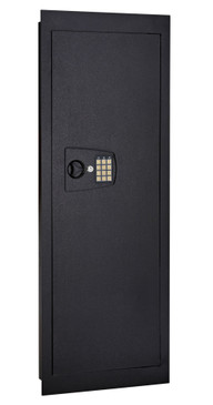 "Snapsafe In Wall Long Gun Shotgun Safe, Digital Keypad, Measures 44""x 4""x16.25"", Security Cabinet with Safe Entry Knob"