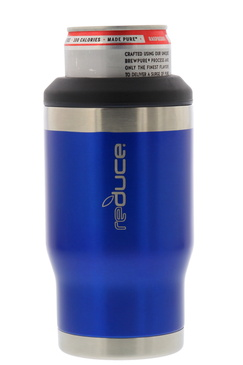 REDUCE 4-in-1 Stainless Steel Bottle and Can Insulator – This Drink Cooler Keeps Bottles, Cans, Skinny Cans and Mixed Drinks Ice Cold – Sweat-Free, Perfect for Outdoor Drinking