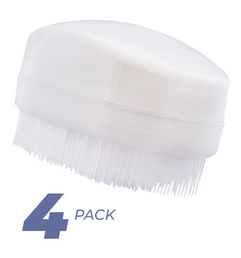 Wilbarger Therapy Brush, 4 Pack – Therapressure Brush for Occupational Therapy - Sensory Brushing- Part of the Wilbarger Brushing Protocol