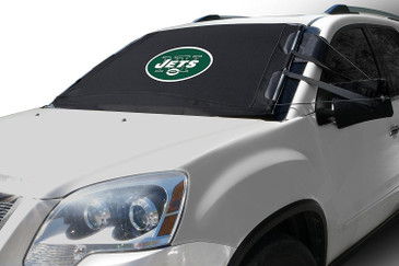 NFL FrostGuard - Premium Winter Windshield Cover for Snow, Frost and Ice - Cold Weather Protection for Your Vehicle