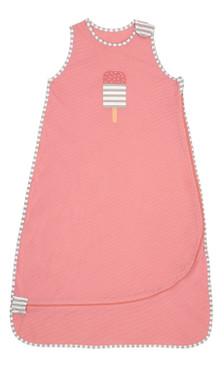 Love To Dream Nuzzlin Sleep Bag/New Generation Muslin, Super-Soft 100% Cotton, Style Fashion Design, 0.2 TOG, 18-36 Months, Pink