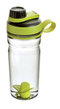 Rubbermaid Shaker Bottle-Odor & Stain Resistant-Great for Mixing Protein Shakes, Juices, Smoothies-BPA-Free, Finger Loop, & Five-Sided Paddle Ball for Blending