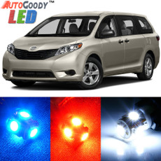 Premium Interior LED Lights Package Upgrade for Toyota Sienna (2011-2019)