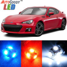 Premium Interior LED Lights Package Upgrade for Subaru BRZ (2013-2017)