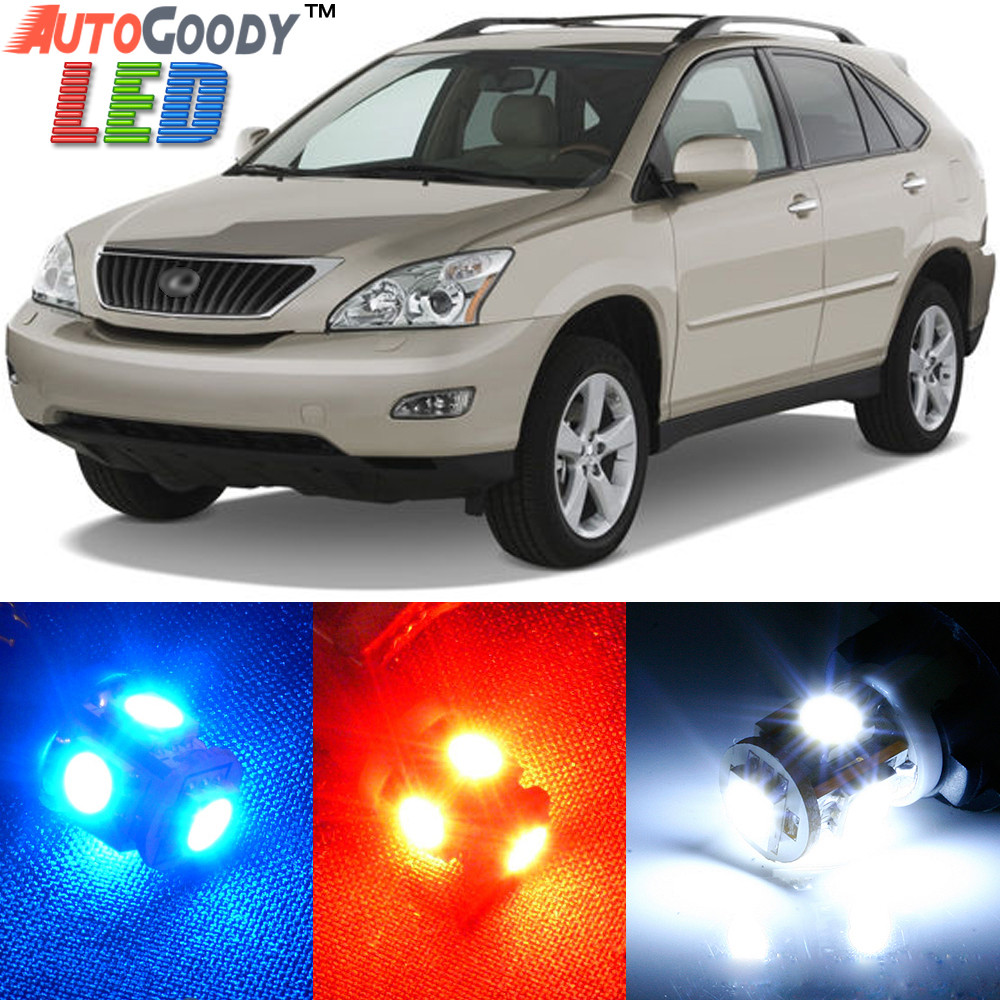 Premium Interior Led Lights Package Upgrade For Lexus Rx330 Rx350 2005 Hover Over Image To Zoom