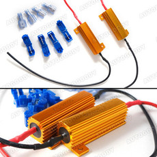 Load Resistors For LED Bulbs Turn Signal Light Blink Flash Fix