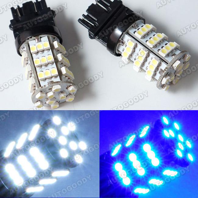 3156 3157 3757 4157 LED Light Bulbs 54-SMD For Daytime Running Lights