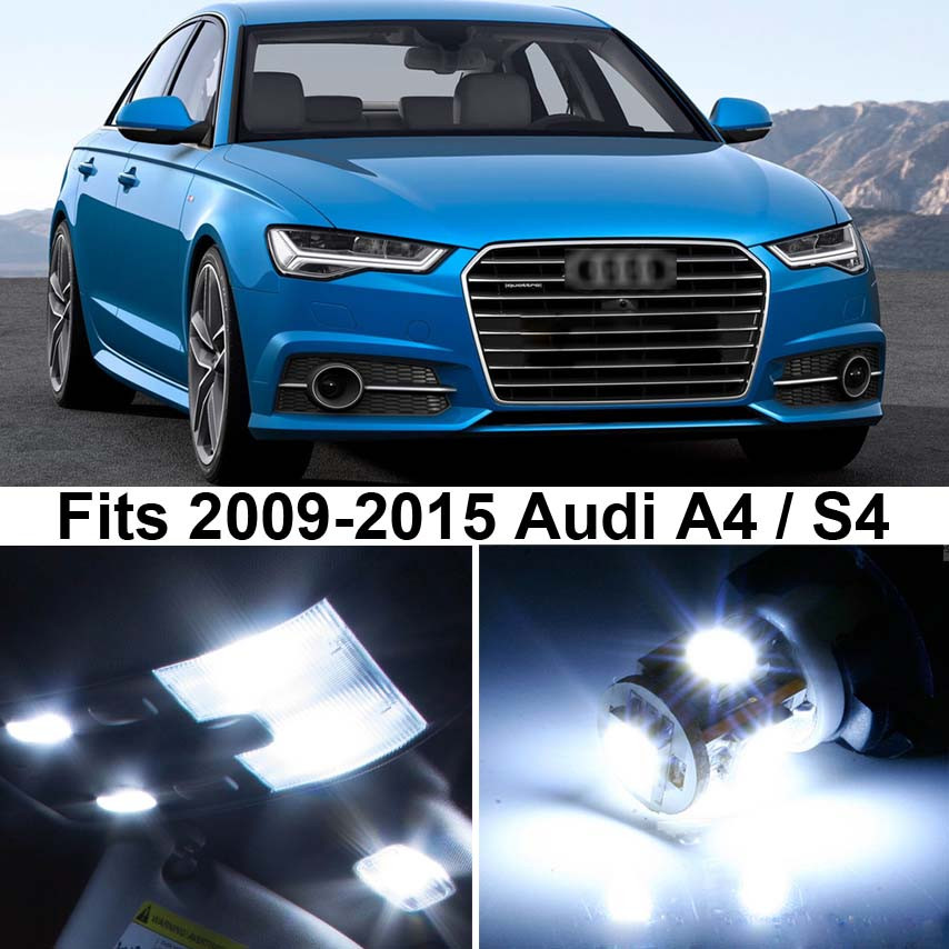 Premium LED Lights Interior Package Upgrade For Audi A4