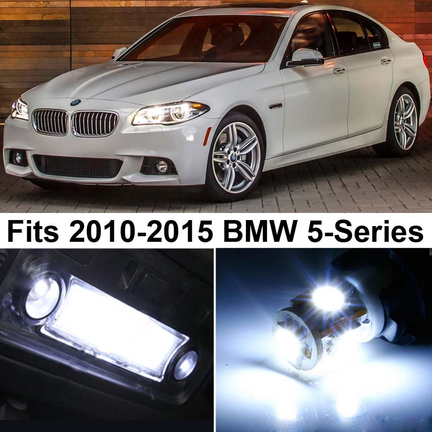 Premium Led Lights Interior Package Upgrade For Bmw 5 Series 2010