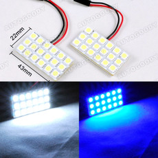 LED Panels for Interior Dome Map Door Light 18-SMD
