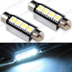 41mm Error Free Festoon LED Bulbs with Built-in Load Resistors