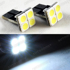 T10 Wedge LED Bulbs 4-SMD