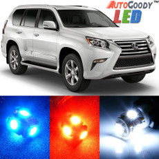 Premium Interior LED Lights Package Upgrade for Lexus GX460 (2010-2017)