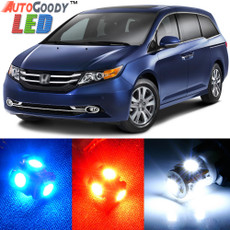 Premium Interior LED Lights Package Upgrade for Honda Odyssey (2011-2019)