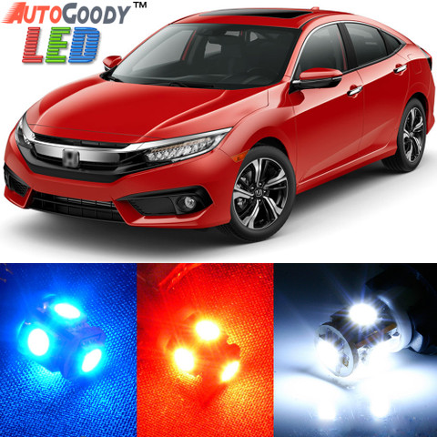 Premium Interior LED Lights Package Upgrade for Honda Civic (2013-2017)