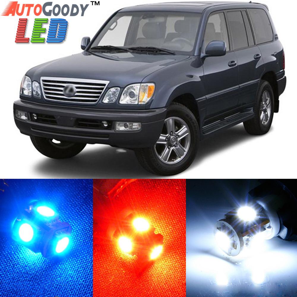 premium interior led lights package upgrade for lexus lx470 1999 2007 autogoody premium interior led lights package upgrade for lexus lx470 1999 2007