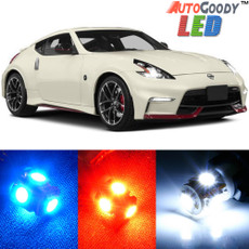 Premium LED Lights Interior Package Upgrade for Nissan 370Z (2009-2019)
