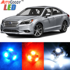 Premium Interior LED Lights Package Upgrade for Subaru Legacy (2010-2019)