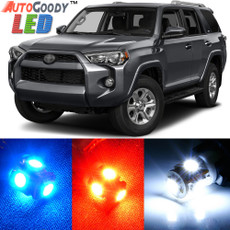 Premium Interior LED Lights Package Upgrade for Toyota 4Runner (2003-2019)