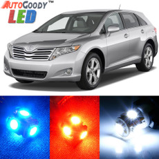 Premium Interior LED Lights Package Upgrade for Toyota Venza (2009-2015)