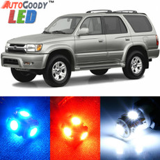 Premium Interior LED Lights Package Upgrade for Toyota 4Runner (2001-2002)