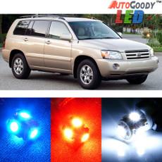 Premium Interior LED Lights Package Upgrade for Toyota Highlander (2004-2007)