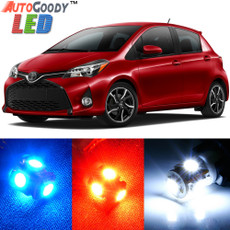 Premium Interior LED Lights Package Upgrade for Toyota Yaris (2007-2019)